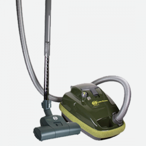 Sebo K2 Hunter Green AirBelt Canister Vacuum With Turbo