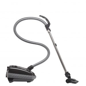 SEBO E1 canister air-only vacuum with Kombi floor tool